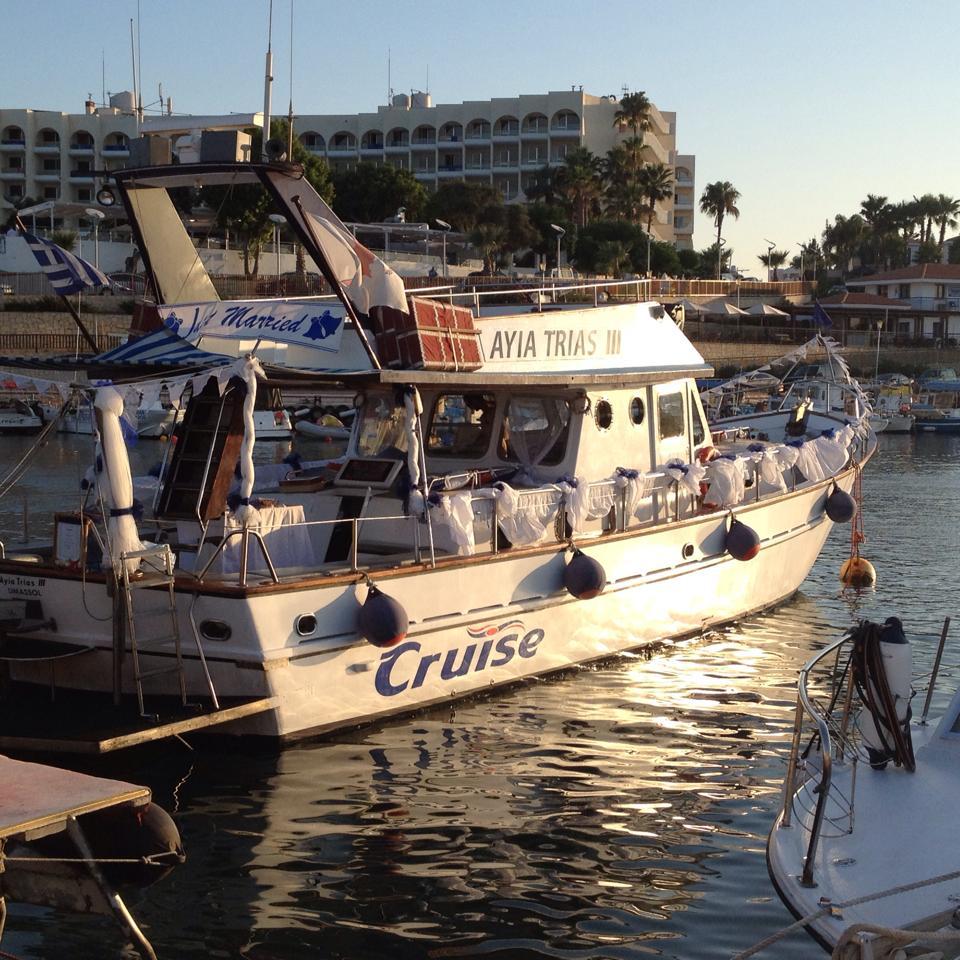 Boat Wedding Wedding Boat Cyprus